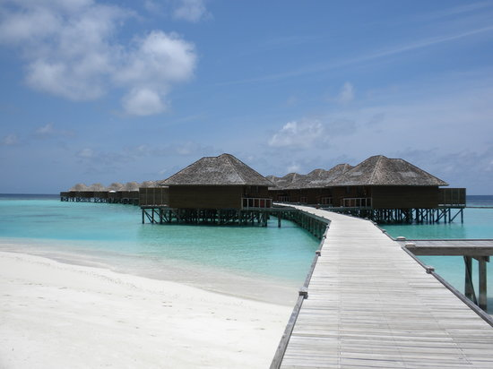Vakarufalhi Island Resort: Water bungalow walkway