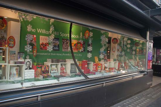 Waterstone's Booksellers Ltd: Display window at Waterstones