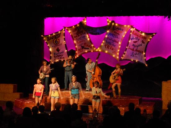 Hatfield & McCoy Dinner Show: Lots of fun music and dancing