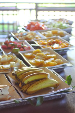 Melia Buenavista: Breakfast fruits @ buffet