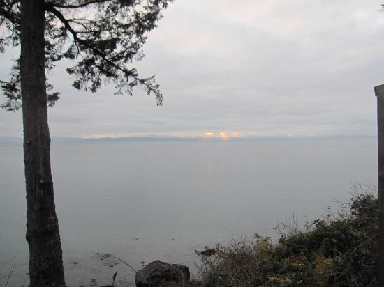 Fossil Bay Resort: view of the Juan De Fuca Strait