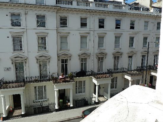 The Paddington Hotel: View from our room to the right