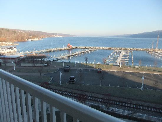 Watkins Glen Harbor Hotel View Of Seneca Lake