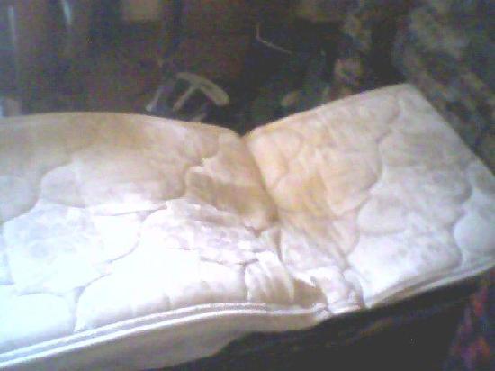 Chula Vista Resort: Broken bed