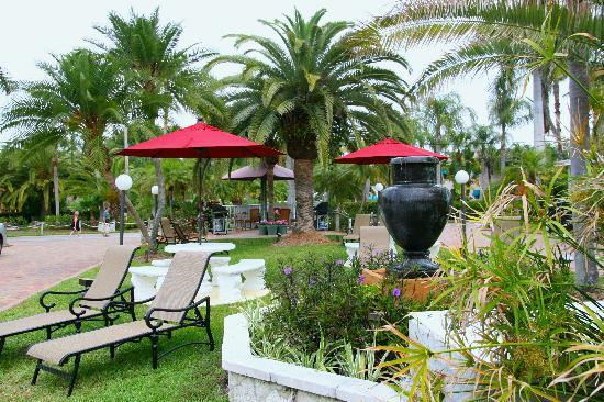 Tropical Beach Resorts: Tropical Gardens for relaxing and enjoying the Sietsa Key sun