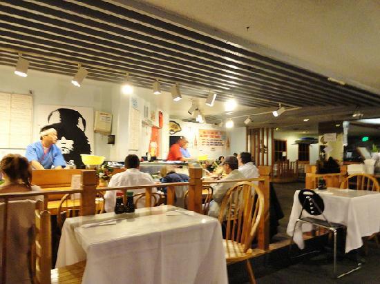 California Beach Restaurant Sushi Bar