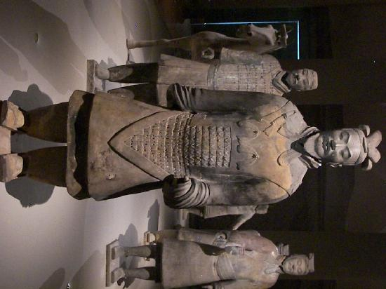 Museum for asiatiske sivilisasjoner: terracotta warrior