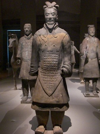 Museum Peradaban Asia: terracotta warrior