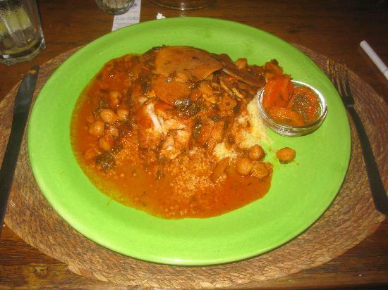 Olivia: Moroccan fish