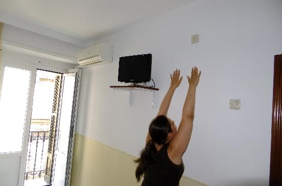 hostal gonzalo: You can hardly access the outlet even if you jump :))