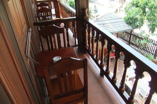Villa Chitdara: balcony