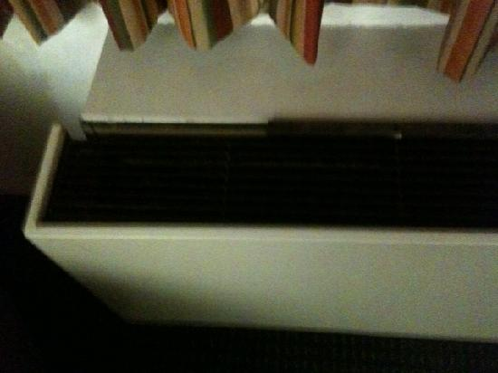 Quality Inn North: AC/Heater coming apart...rattled all night