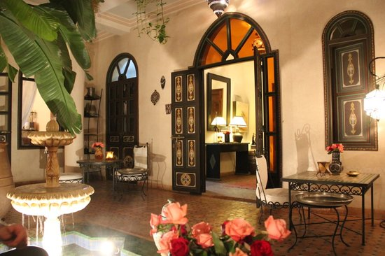 Riad Bamaga Hotel: communal area