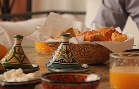Riad Bamaga Hotel: Breakfast