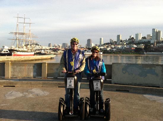 Electric Tour Company Segway Tours: Great city views!