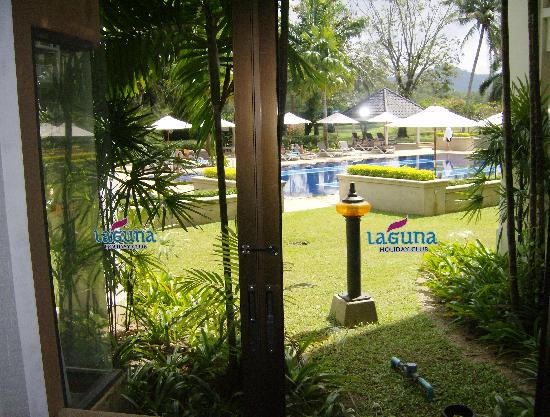 Allamanda Laguna Phuket: View from bedroom window