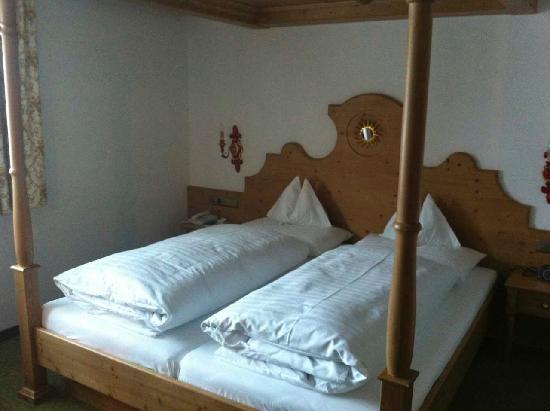Sonnenburg: Schlafzimmer