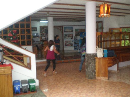 Grand Hotel Lobo de Mar: Recepción