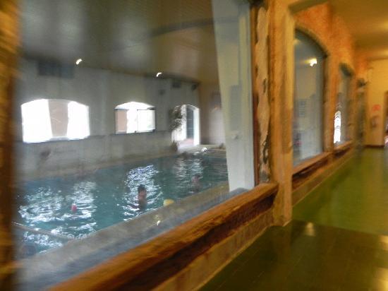 Hotel Parque Oceanico: Piscina interior