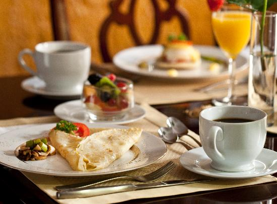 American Guest House: Breakfast Specials
