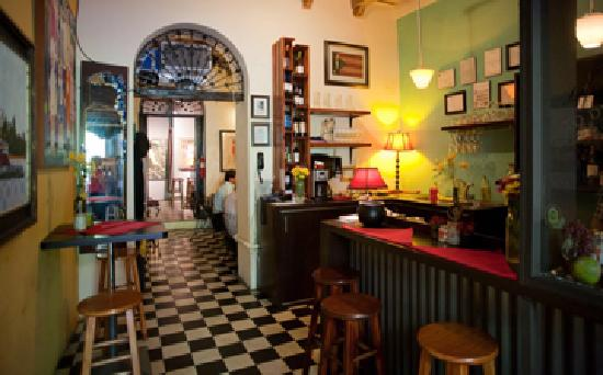 Cafe Esperanza: nice indoor atmosphere
