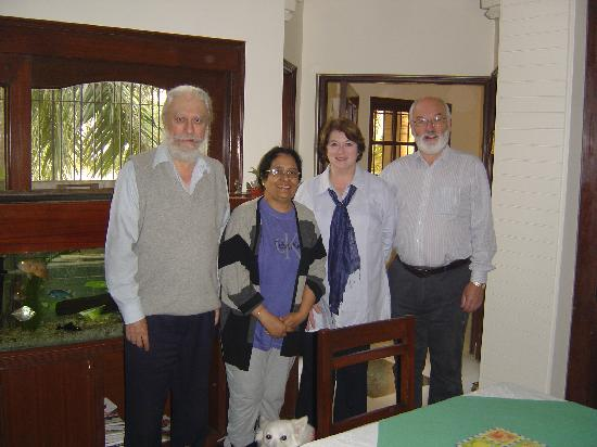 Aashiyan Bed & Breakfast: Guests at Aashiyan