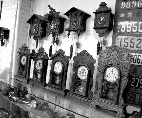 J.A. Cooley Museum: Clock Collection
