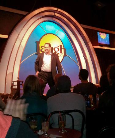 Laugh Factory: Comedian Harry Basil