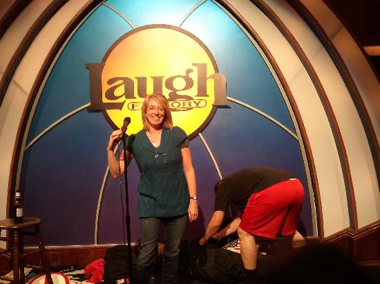 Me at the Laugh Factory