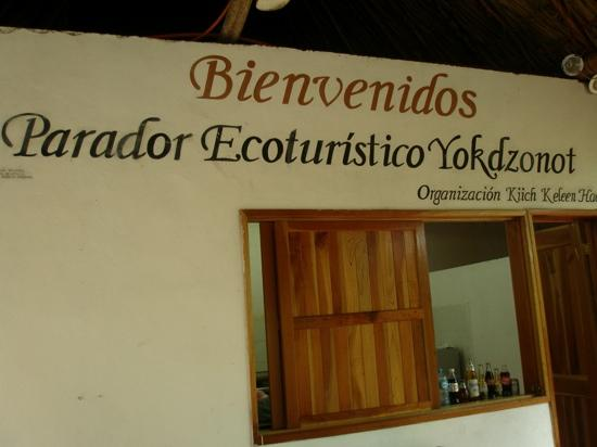 Piste, Mexico: Yokdzonot Cenote & Restaurant