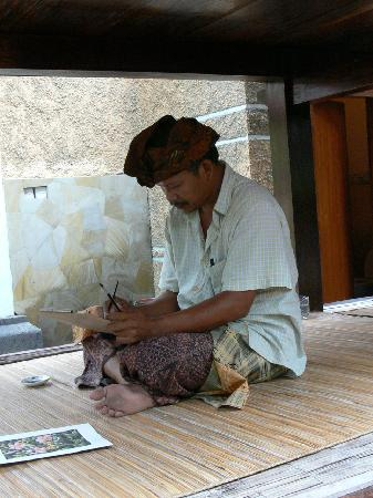 Gunung Merta Bungalows: Painting Lesson