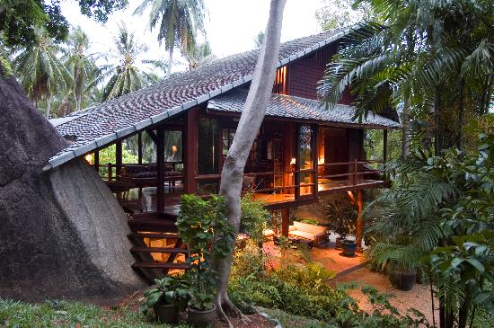Tamarind Springs Tropical Villas Ko Samui Bophut Spa