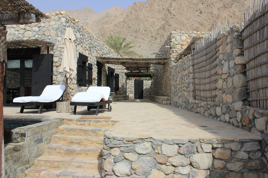 Six Senses Zighy Bay: Beach villa