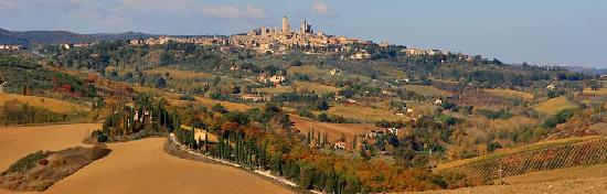 View of San Gimignano Country House Santa Maria a Poneta
