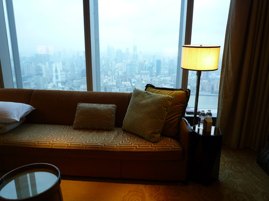 The Ritz-Carlton Shanghai, Pudong: The magnificent Bund View from the room