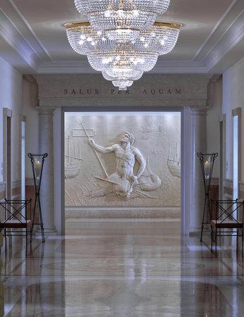 Hotel Terme Tritone Thermae & Spa: reparto fanghi