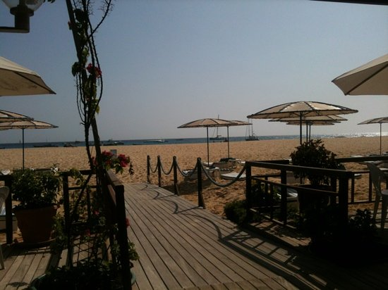 Hotel Morabeza: view from beach club