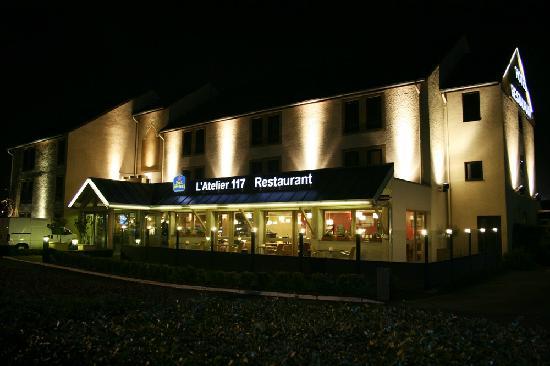 Best Western Hotel L'Atelier 117: Façade