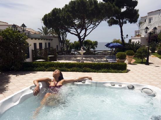 Villa Bianca: idromassaggio jacuzzi