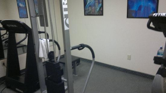 Best Western Central City: Fitness room