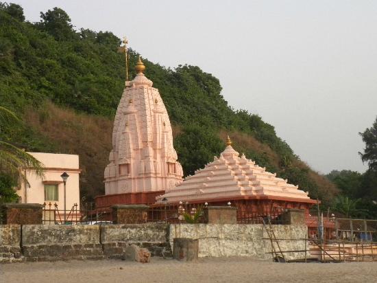 Ganpatipule, India: Ganapati temple