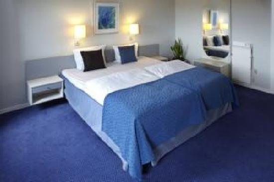 Scandic Regina: A very spacious double bed, as part of the double room...