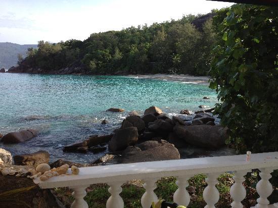 Anse Soleil Beachcomber: vue de la terrasse