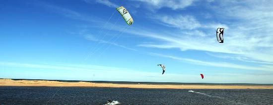 Laguna Garzon Lodge: kitesurf en la Laguna