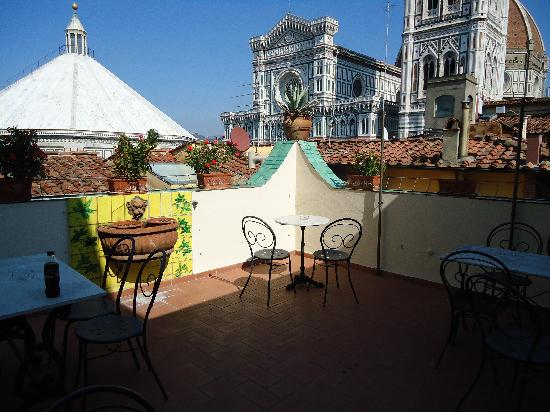 Residenza Giotto Breakfast Terrace View