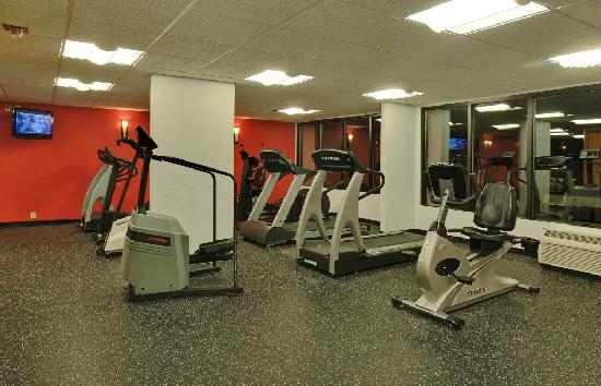 Radisson Hotel Rochester Riverside: Complimentary Fitness Center