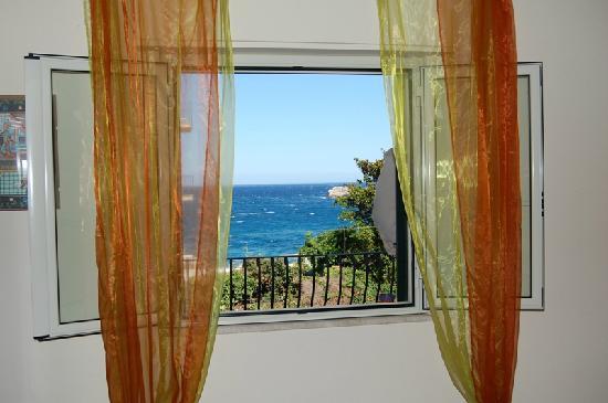 Villa Carmelas: veduta dalla nostra camera