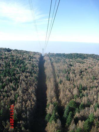 Uludag Ski Center : View from Cable car