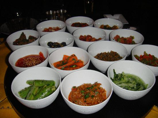 La Mamounia Marrakech : The incredible local starter selection!!
