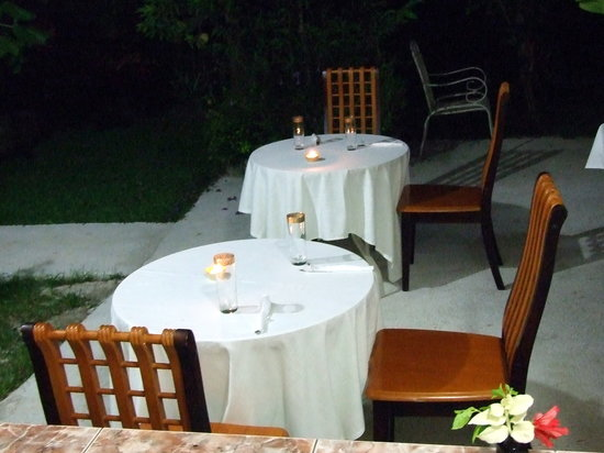 Buisson Guesthouse La Digue: Dinner2